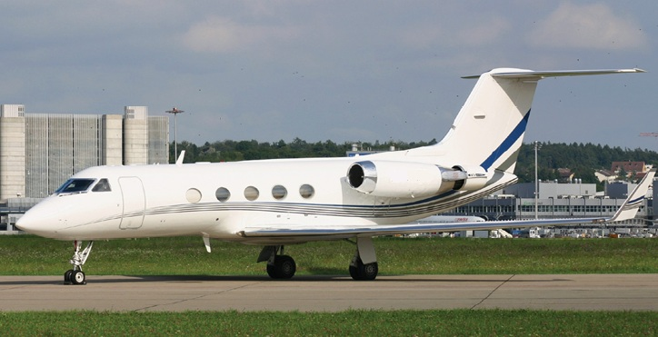 N516TR Gulfstream GIII In Teterboro New Jersey United States Of America  P