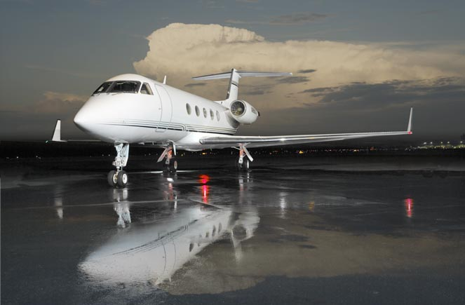 N888LV Gulfstream GIII In Islip New York United States Of America  Private