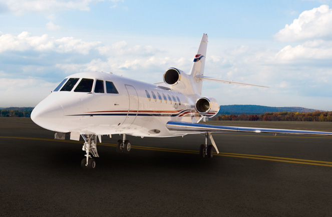 N428CC Dassault Falcon 50 In Morristown New Jersey United