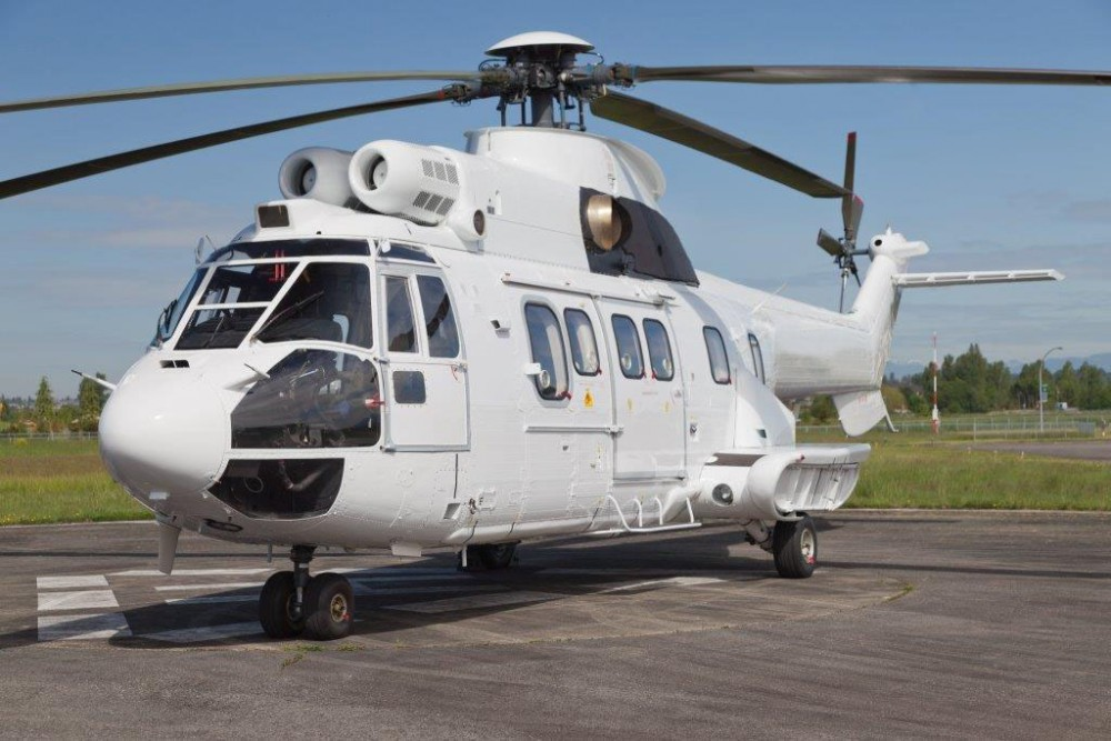 Picture-of-AS332L Super Puma-Aircraft gallery