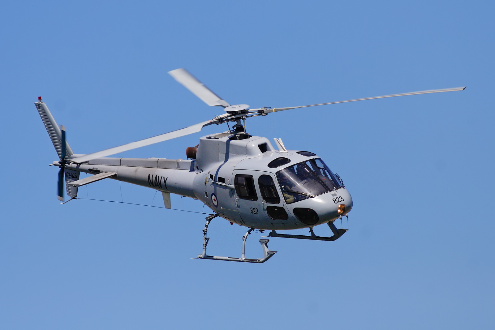Picture-of-AStar AS350D Ecureuil Mark II-Aircraft gallery
