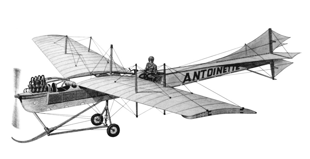 Picture-of-Antoinette IV-Aircraft gallery