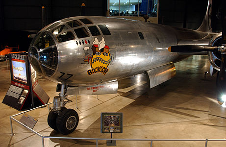 Picture-of-Bockscar-Aircraft gallery
