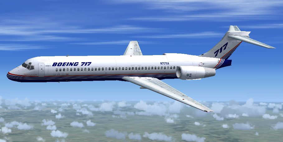 Picture-of-Boeing 717-200-Aircraft gallery