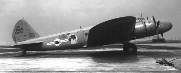 Picture-of-Boeing Model 247-Aircraft gallery