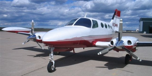 Picture-of-Cessna 401A-Aircraft gallery