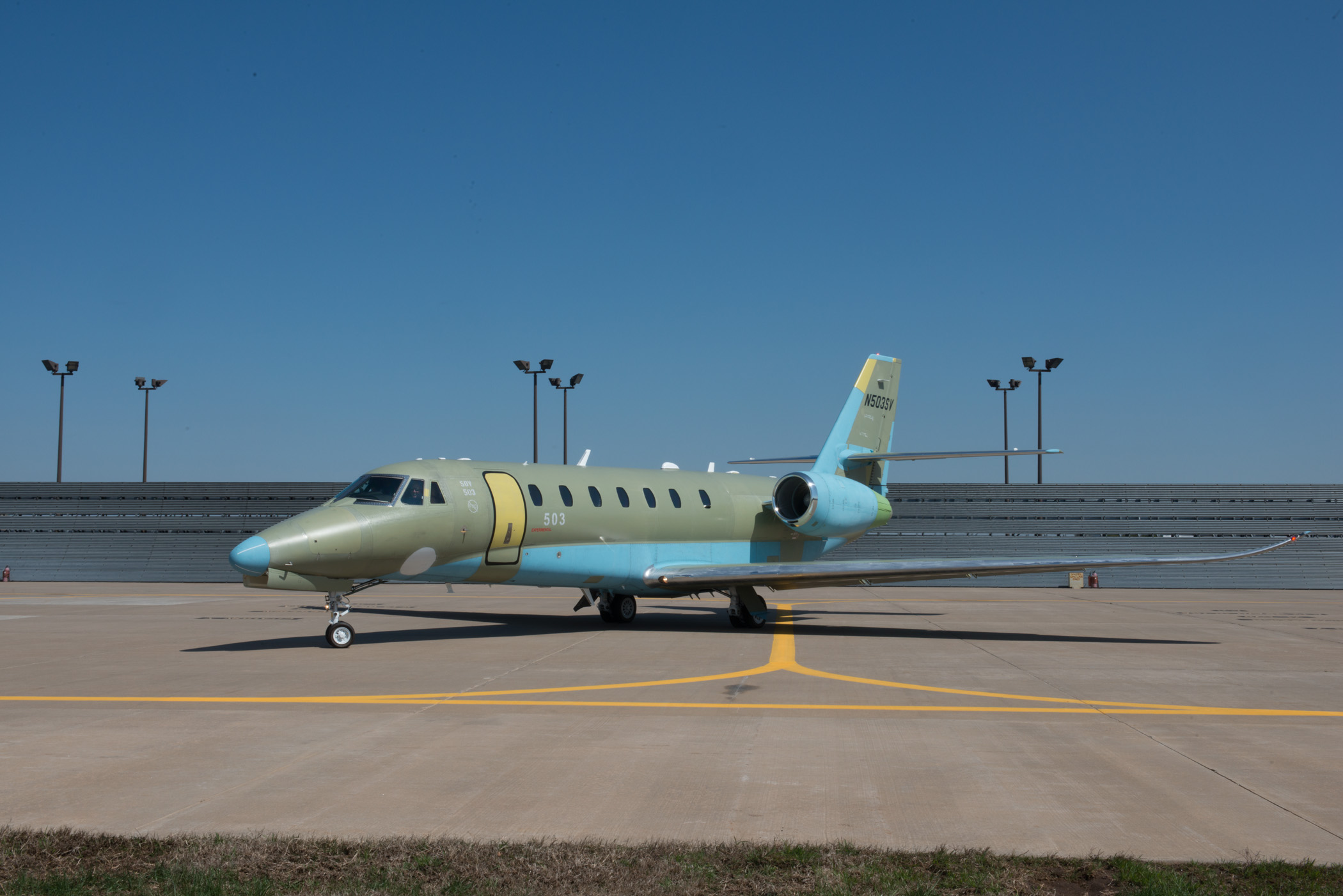 Picture-of-Citation Sovereign New-Aircraft gallery