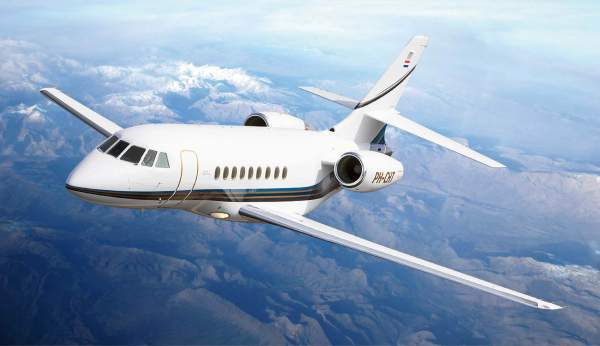 Picture-of-Falcon 2000DX-Aircraft gallery