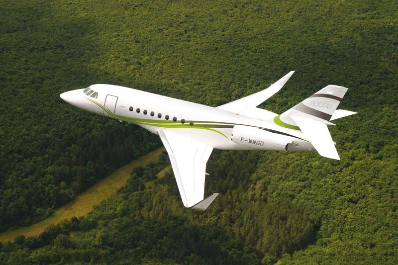 Picture-of-Falcon 2000S-Aircraft gallery