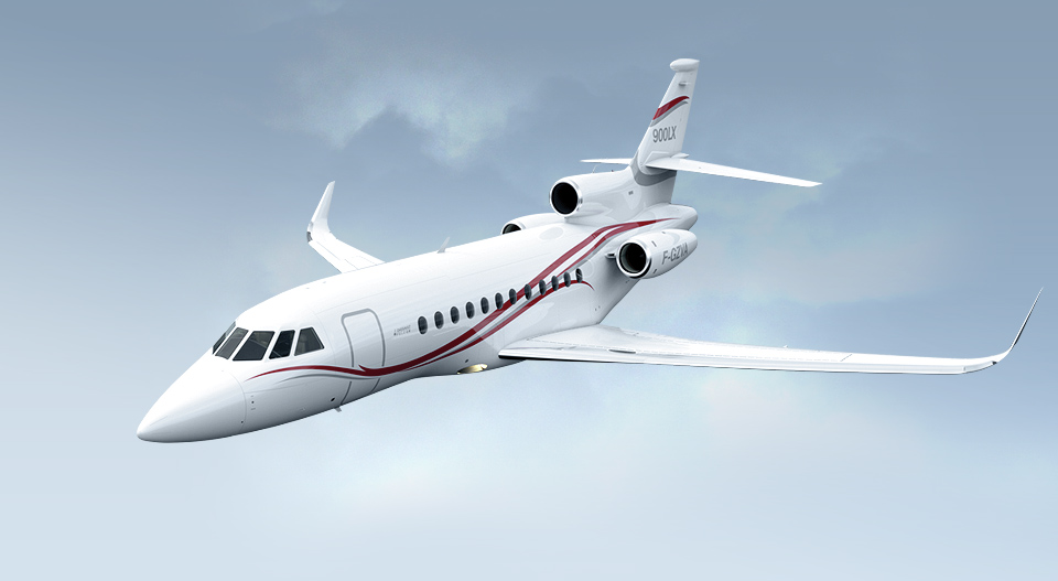Picture-of-Falcon 900LX-Aircraft gallery
