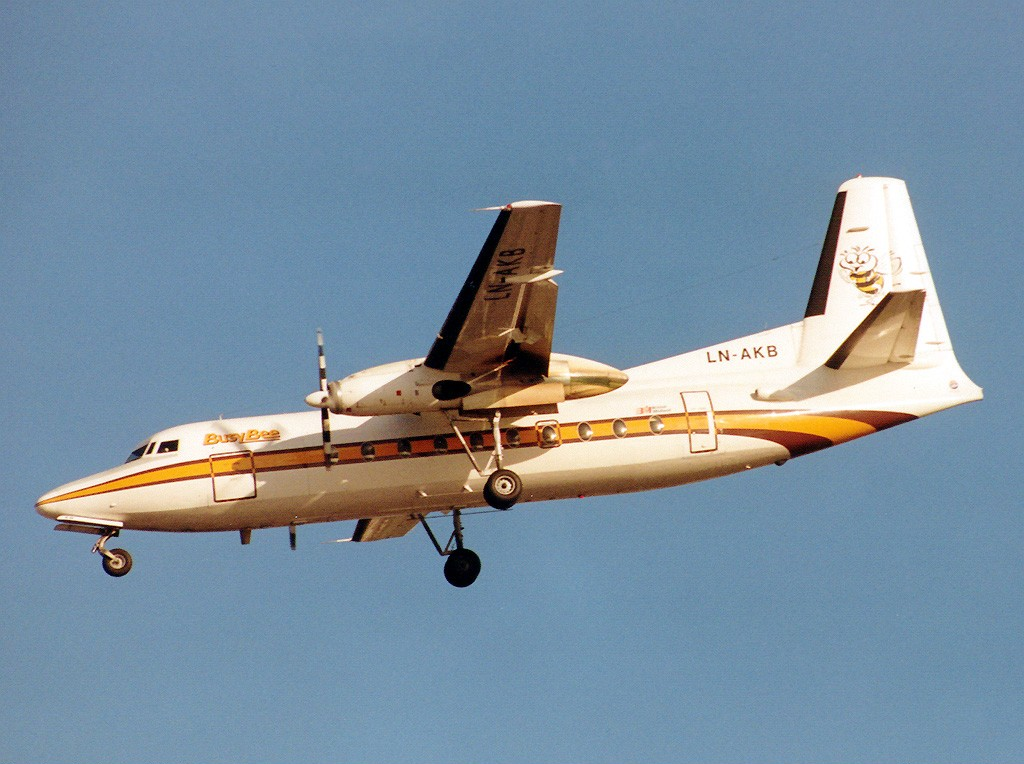Picture-of-Fokker F27 Friendship-Aircraft gallery