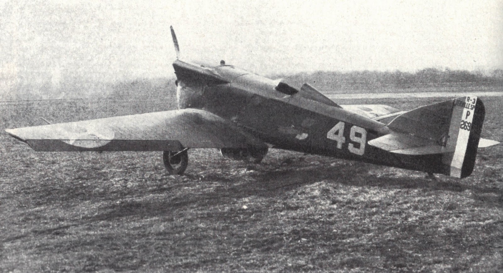 Picture-of-R-3 Racer-Aircraft gallery