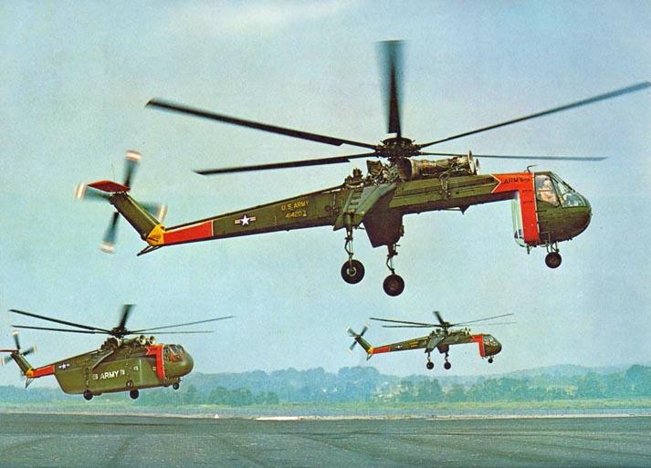 Picture-of-S-64 Skycrane-Aircrane-Aircraft gallery