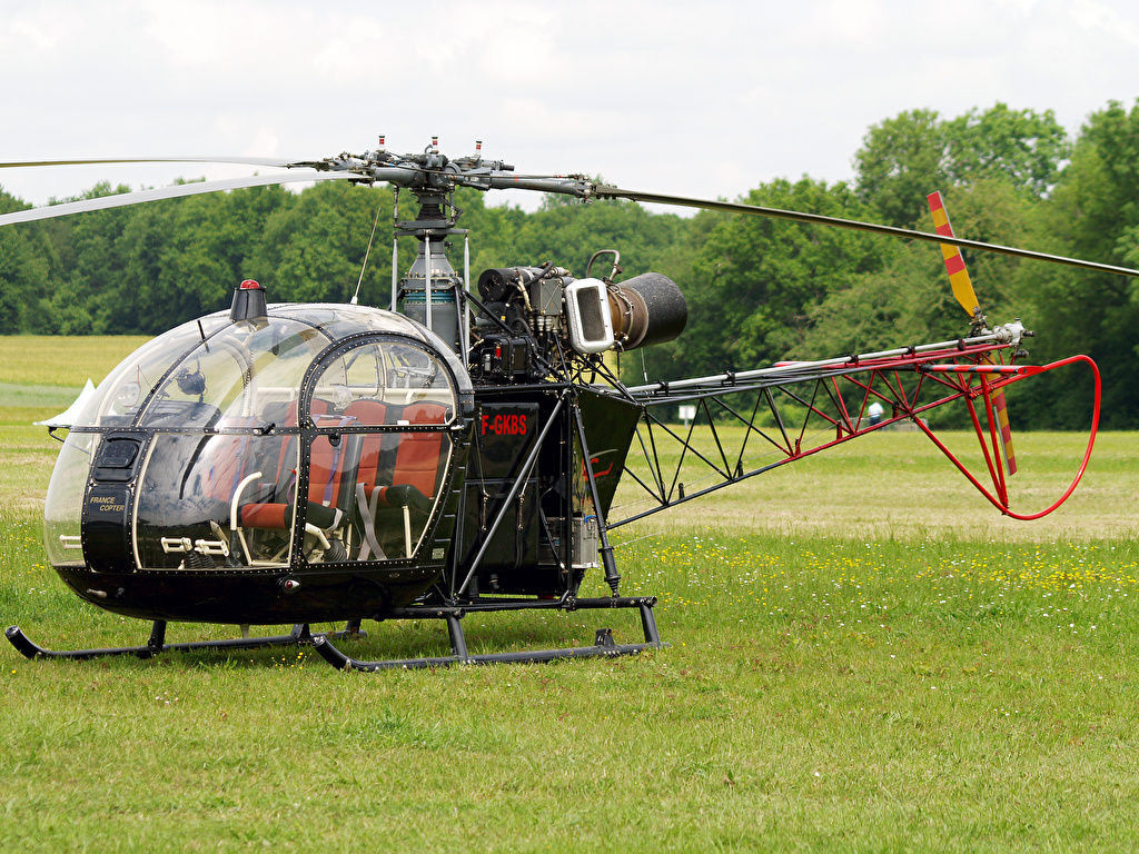 Picture-of-SA-313B Alouette II-Aircraft gallery