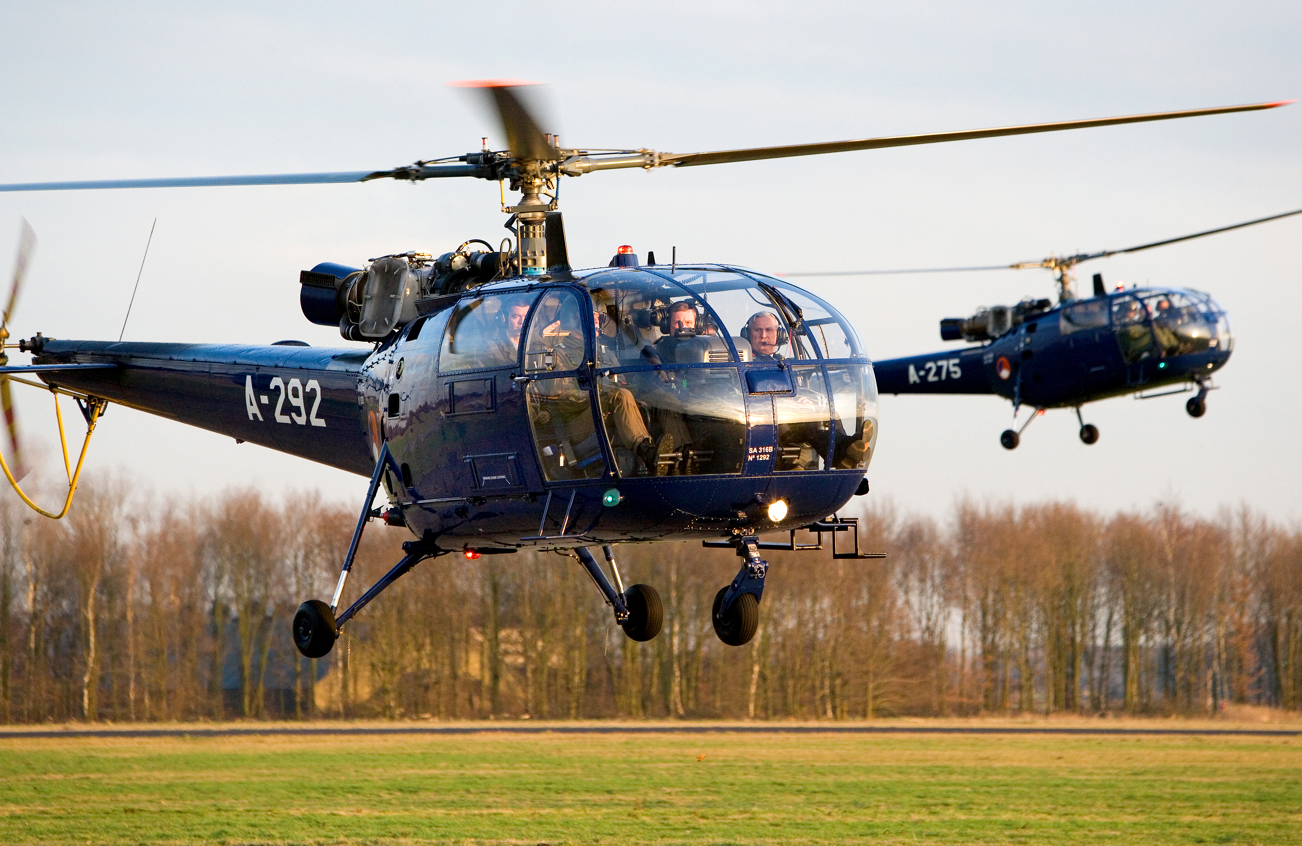 Picture-of-SA-316B Alouette III-Aircraft gallery