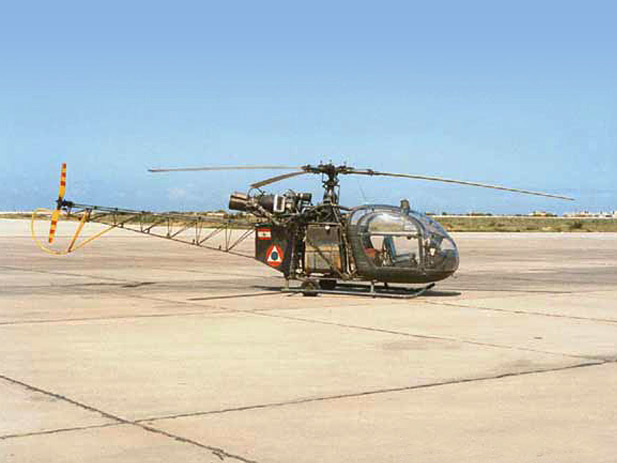 Picture-of-SA-318 Alouette II-Aircraft gallery