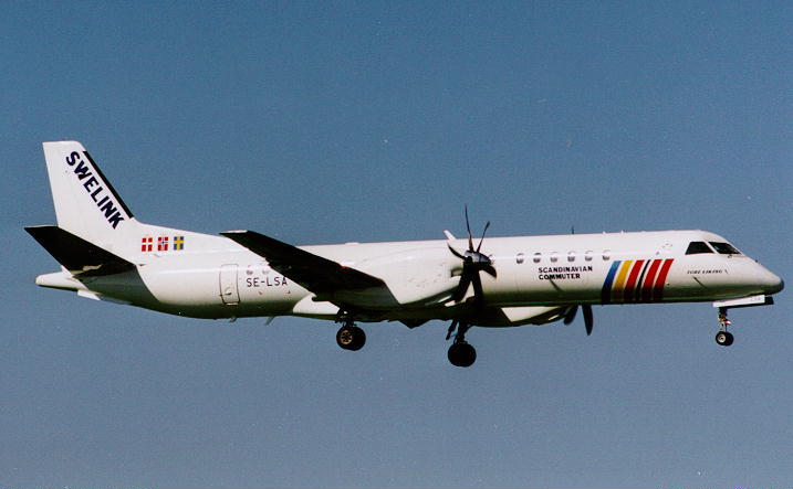 Picture-of-Saab 2000 Commuter-Aircraft gallery